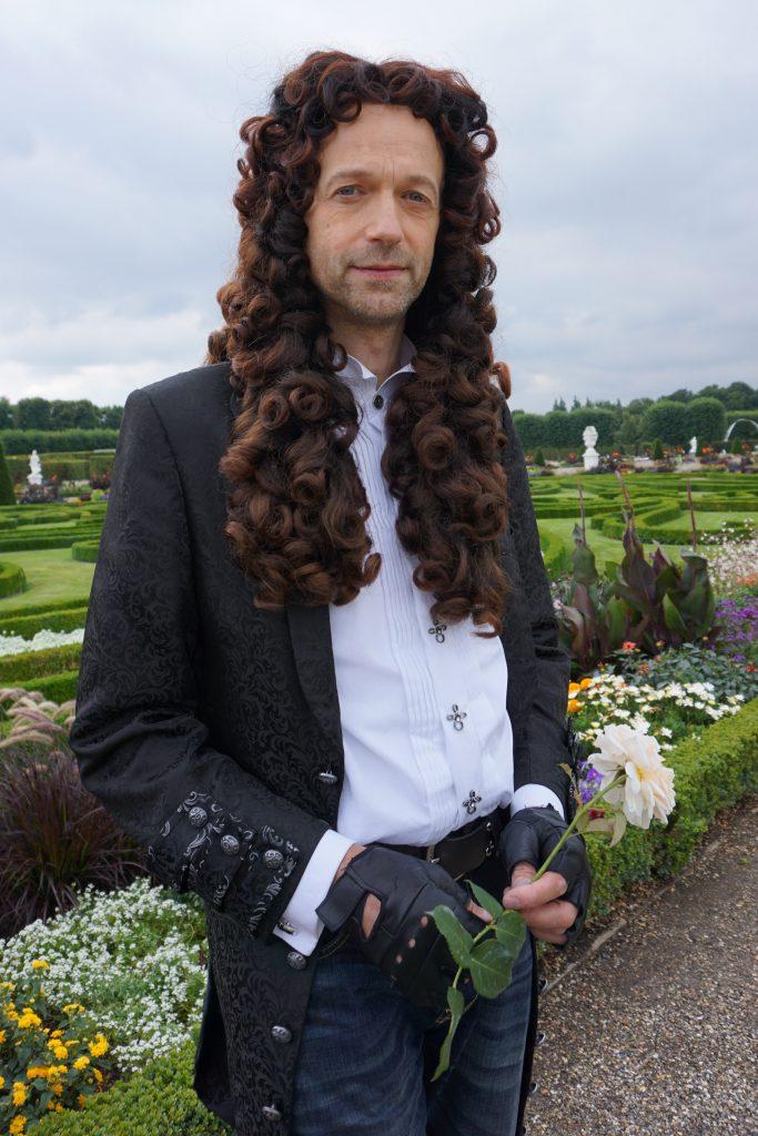 als Leibniz in den Herrenhäuser Gärten